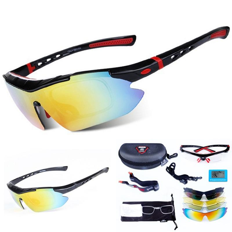 d640132ac70 Professional Riding MTB Sunglasses Polarized Cycling Glasses for ...