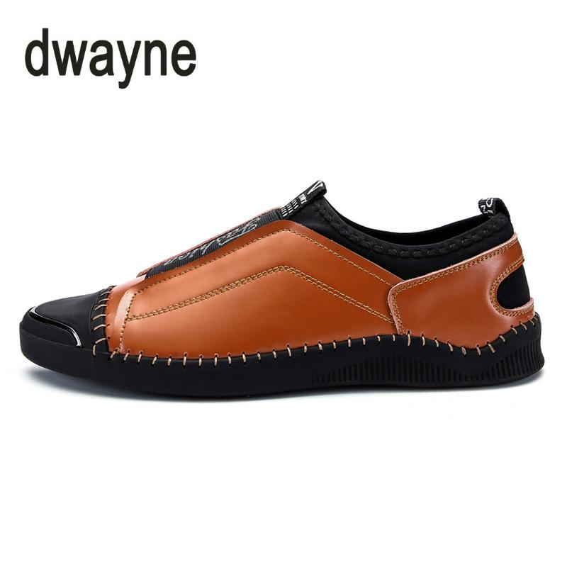 0ab137808 2018 New Young Men S Casual Leather Shoes Comfortable Lace Up Casuals Hoes  Breathable Gentleman Driving Shoes Shoes For Men Womens Shoes From  Liuyangbag