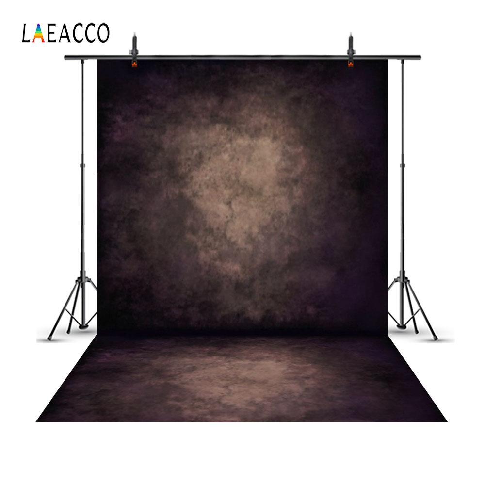 Laeacco Grunge Gradient Solid Wall Floor Scene Portrait Photography Backgrounds Custom Photographic Backdrops For Photo Studio