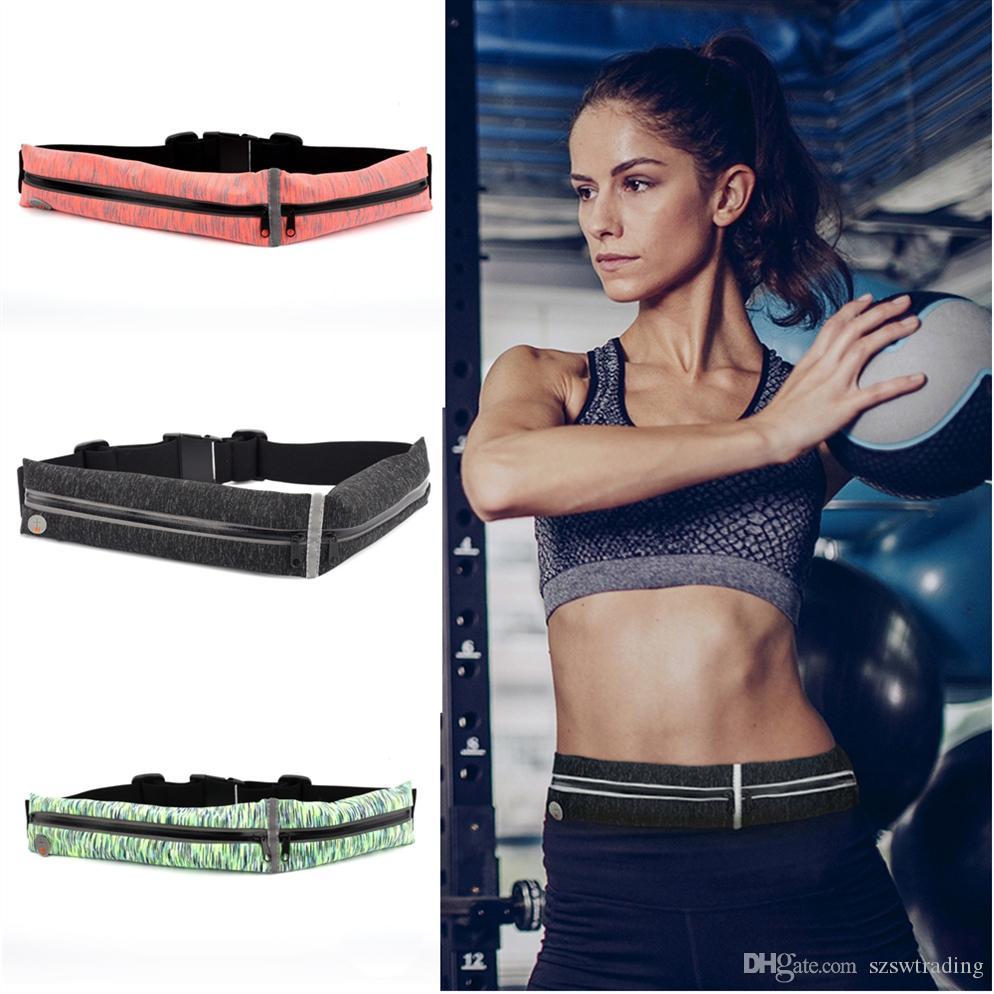 Relojes Y Joyas Buy Cheap 2019 New Runing Bag Waist Bag Running Belt Waterproof Mobile Phone Holder Pouch Jogging Belt Belly Bag Women Gym Fitness Bag