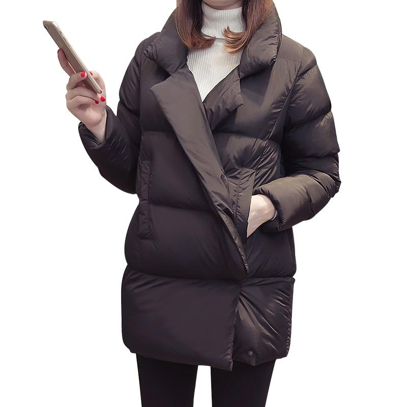 cd7dfaff7cd294 2019 OLN 2019 Women Coat Plus Size Winter Spring Jacket Ladies Clothes  Korean Females Coat Long Sleeve Warm Parka Harajuku From Vanilla10