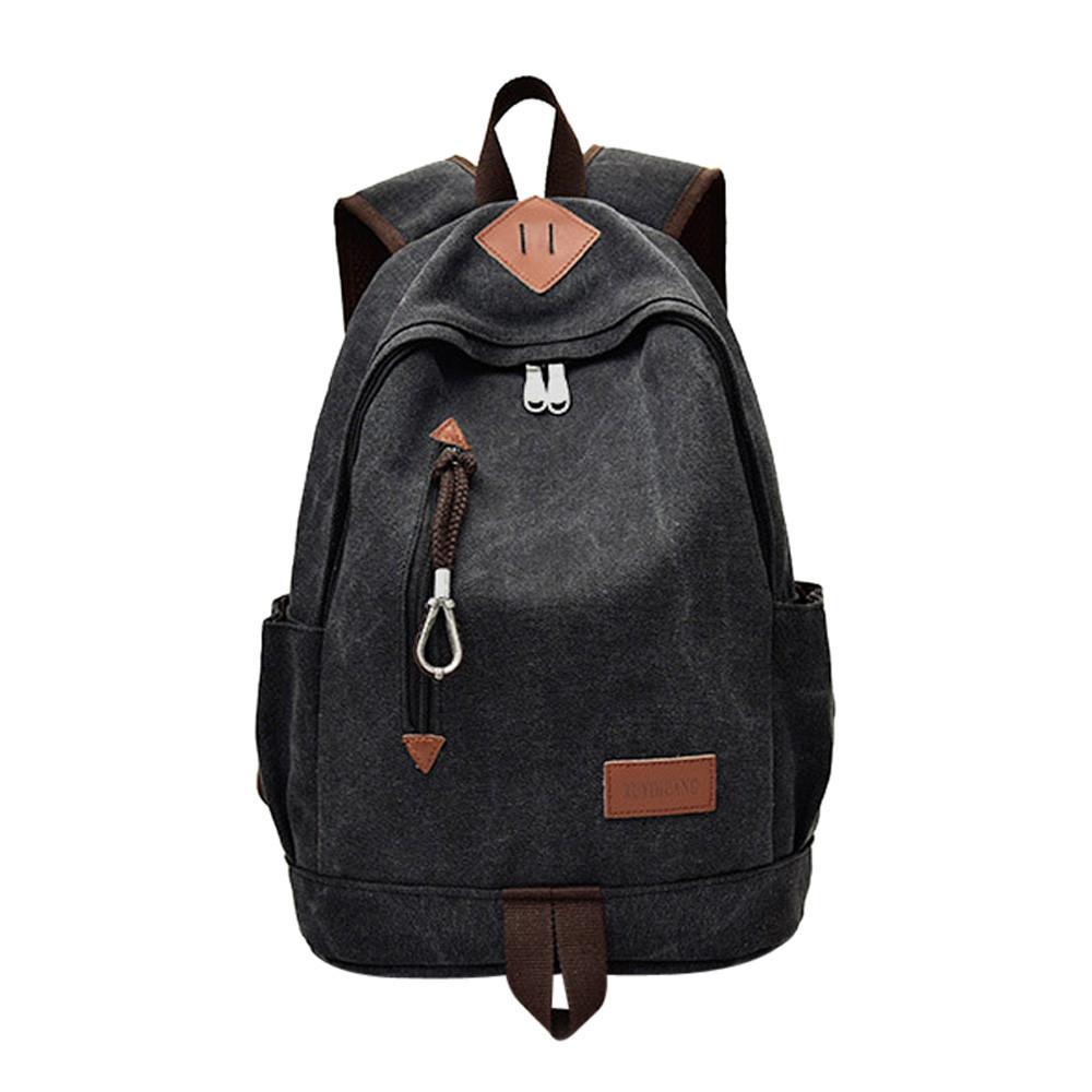 Women's Bags Professional Sale Fashion British Style Pu Leather Backpack Women Travel Satchel Girl Laptop Rucksack Teenager School Bag Unisex Student Book Bag