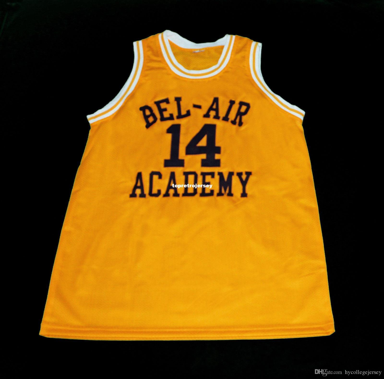 6b44653329ba 2019 Cheap Mens WILL SMITH FRESH PRINCE OF BEL AIR BASKETBALL JERSEY SEWN  NEW ANY SIZE Retro Basketball Jerseys From Hycollegejersey