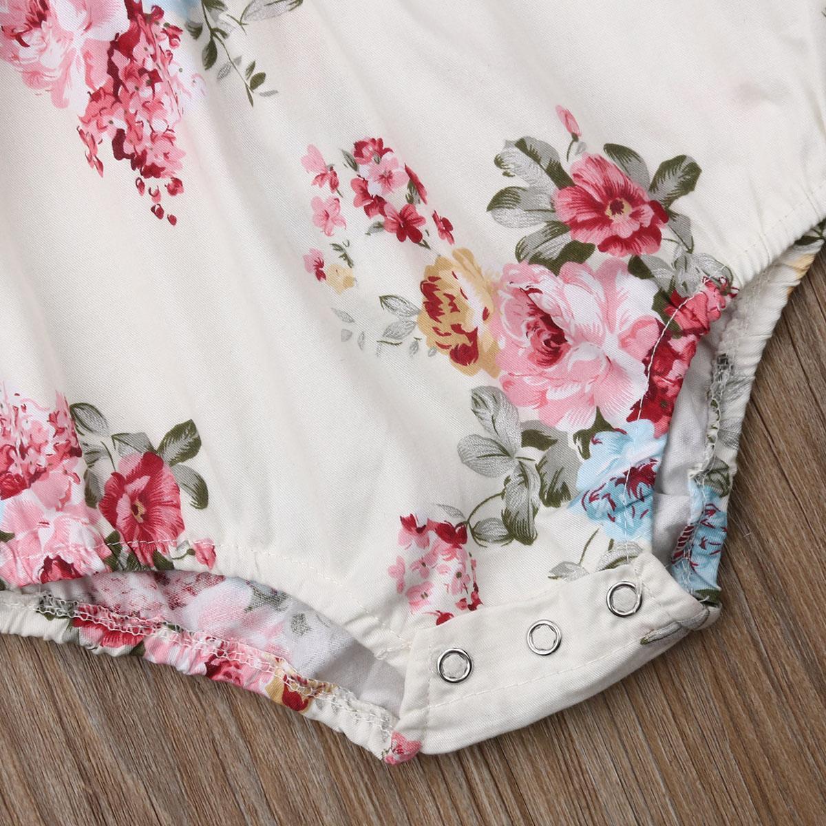 Newborn neonate Body Outfits principessa Cute tute floreali Abbigliamento fascia Imposta infantile Costumi Little Baby