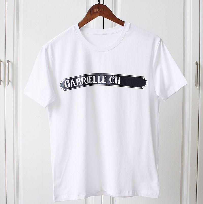 271505c01 18ss Luxury Europe Paris Coco Tshirt Fashion Perfume Women Clothes T Shirt  Casual Cotton Tee Top Shop T Shirts Online T Shirt Shirt From ...