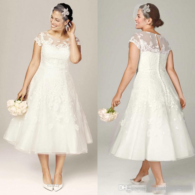 8003d2b858b2 Cheap Short Wedding Dress Sweetheart Illusion Neckline Discount Mermaid  Stretch Wedding Dress