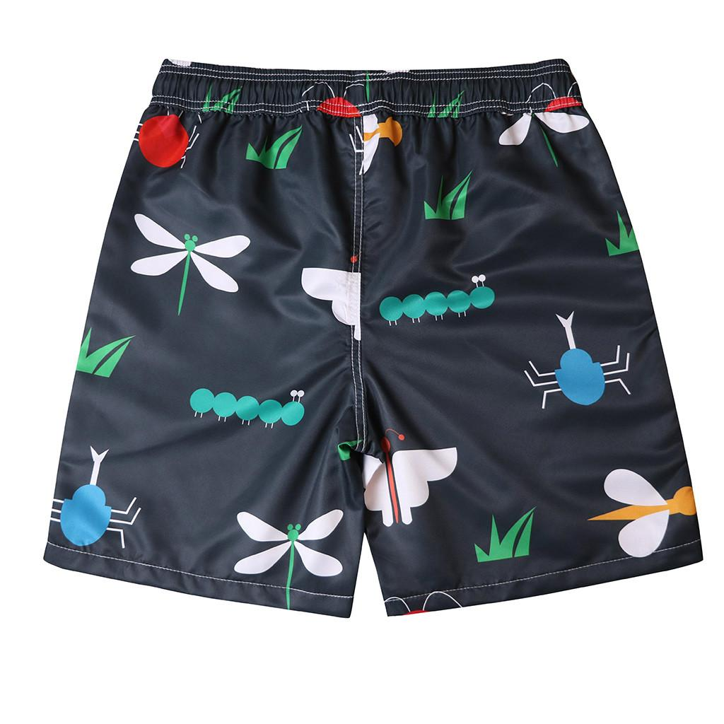 CHAMSGEND Shorts Uomo Short Short Tronchi Quick Dry Black Animal Beach Surf Nuoto Watershort maillot de bain Homme 15.FEB.15