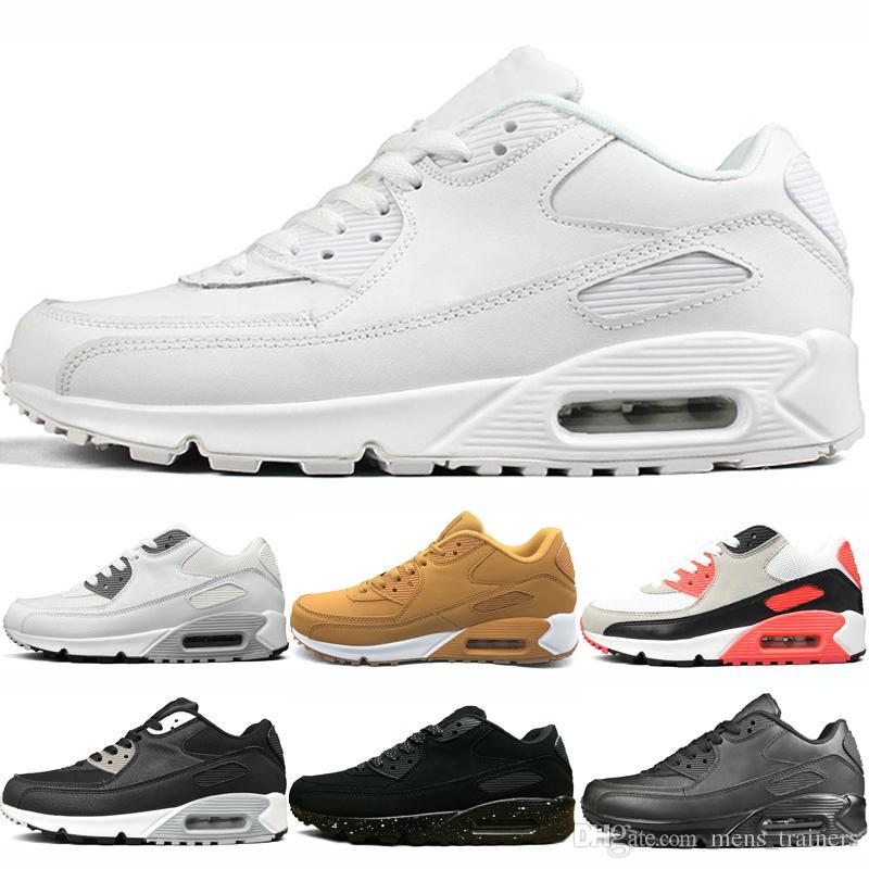68255dd73 Compre Nike Air Max 90 Almofada Sapatas Dos Esportes Das Mulheres ...