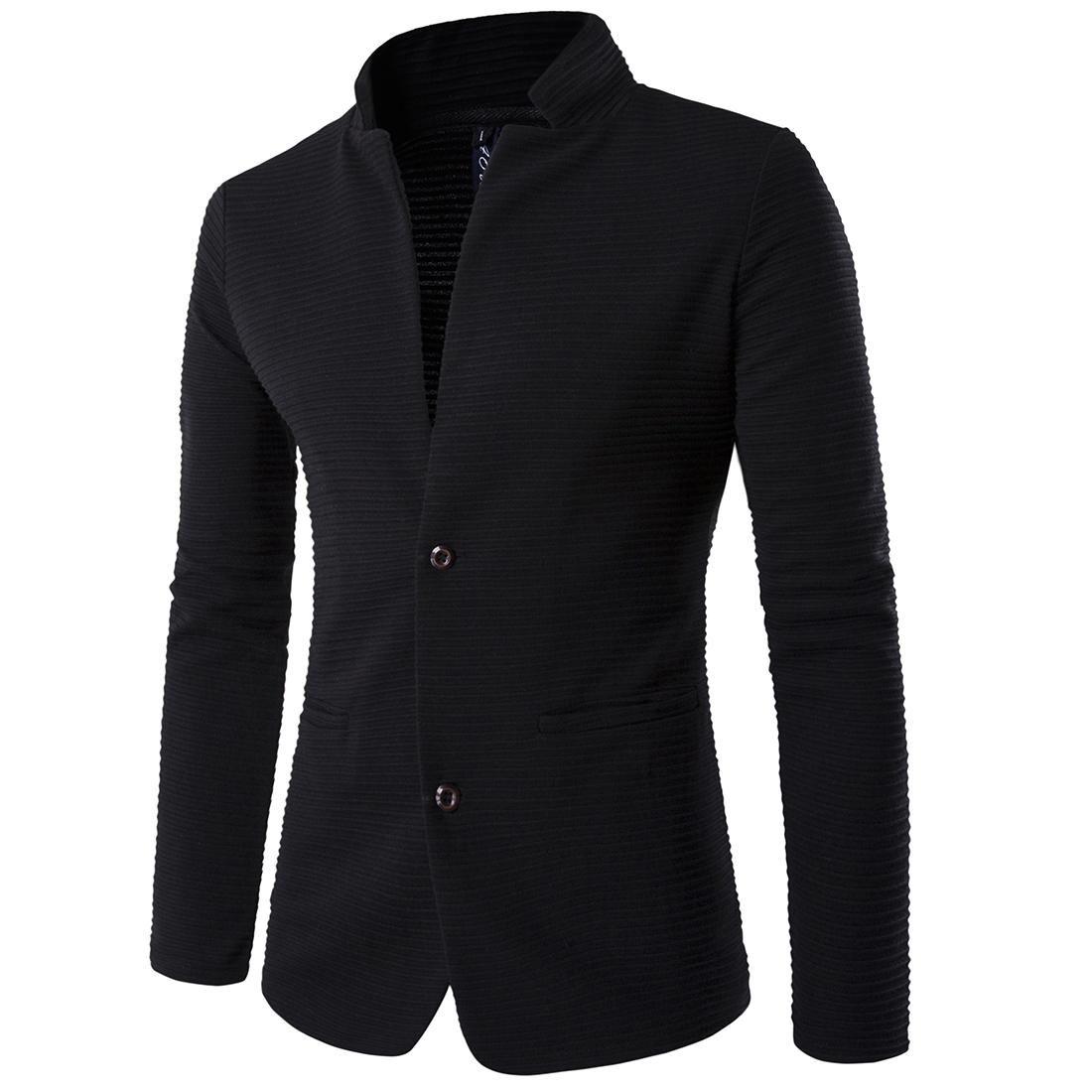 3ba904cb5cbd5 New Slim Business Blazer Jacket Man Patchwork Long Sleeve Plus Size Mens Suit  Jacket 5XL Winter Fitness Coat Male Suite Online with  47.62 Piece on  Quhai s ...