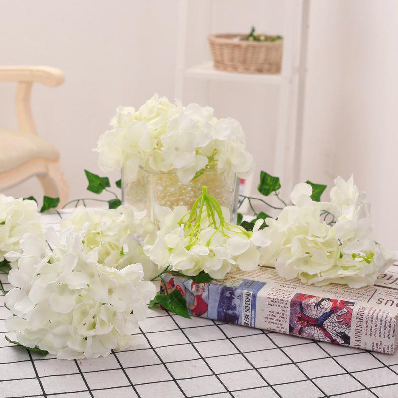 Acheter Hortensia Artificielle Tete De Fleur 26 Couleurs 27