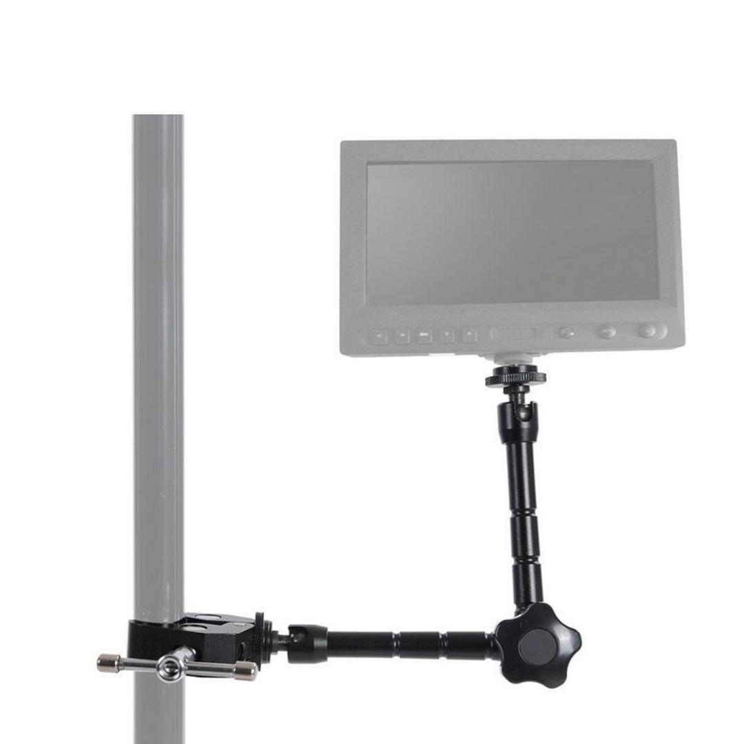 High Quality 11inch Adjustable Friction Articulating Magic Arm + Clamp For DSLR LCD Monitor LED Light Camera Accessories
