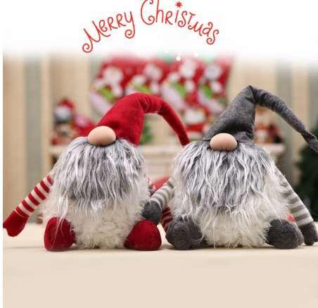 Christmas Gnome Decor.Handmade Swedish Tomte Christmas Decoration Santa Claus Scandinavian Plush Christmas Gnome Plush Christmas Gift Birthday Present