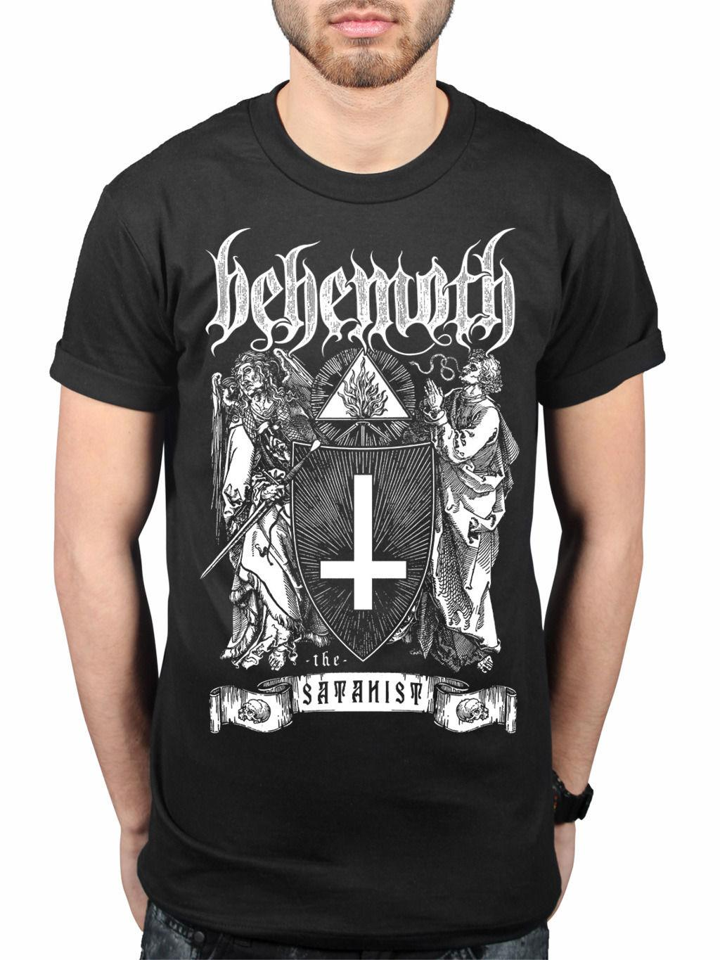 Official Behemoth The Satanist T-Shirt New Merch Album Angel Abyssus Abyssum