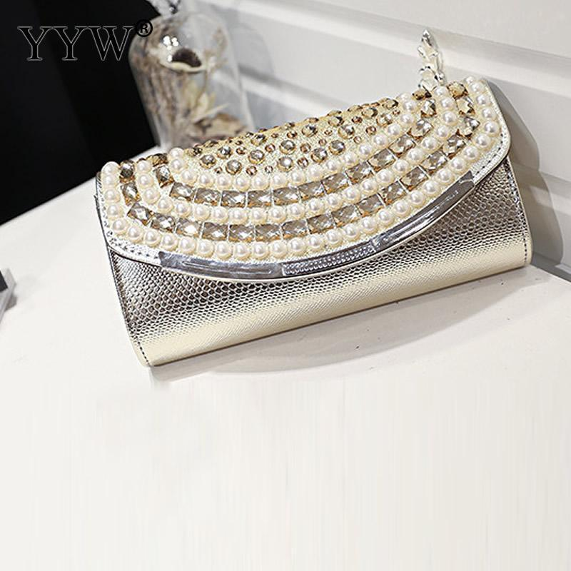9f13e497bd Women Fashion Clutches For Pu Leather High Quality Handbag Bags With Chain  Rhinestone Evening Bags Plastic Pearl Shoulder Crossbody Bags Clutch Bags  From ...