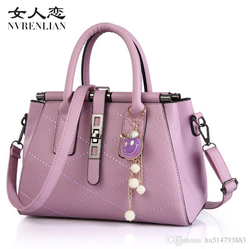 9b078f96f7b Women Designer Handbags Luxury Brand Bags 8 Styles Color Shoulder Tote  Clutch Bag Leather Purses Ladies Bags Wallet Shopping Bag Online Sale