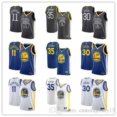 dfcfeb1b8 ... cheap mens golden state warriors 35 kevin durant 30 stephen curry 11  klay thompson fanatics branded