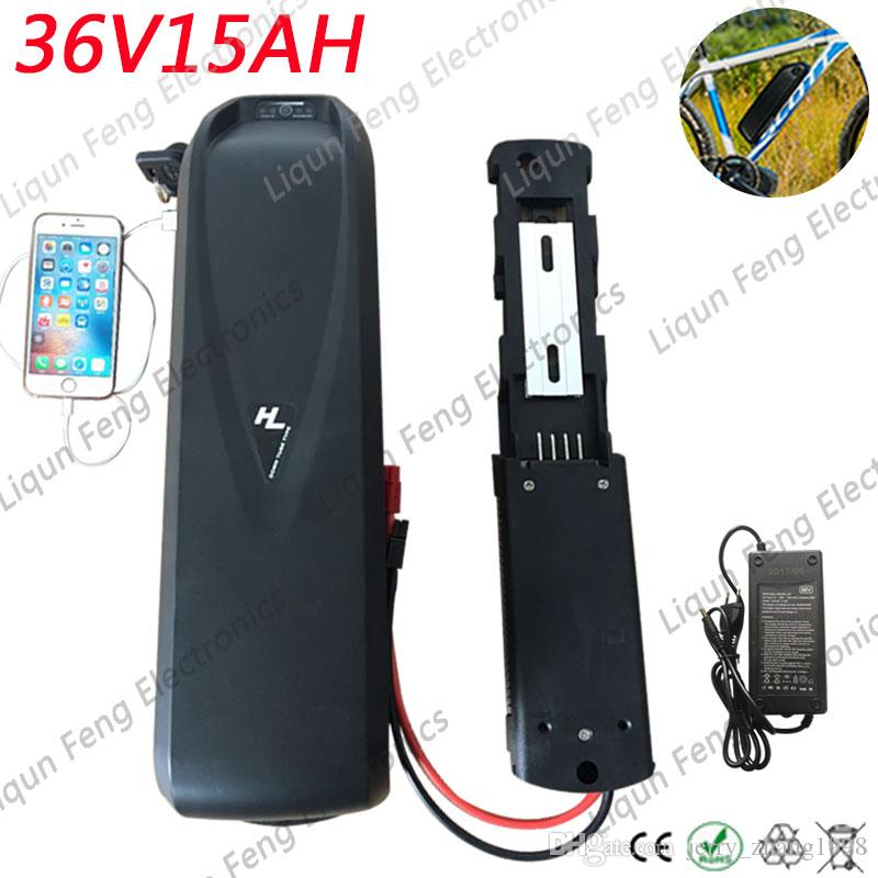 36V 15AH electric bicycle Lithium ion Battery 36V battery with 30A BMS for 250w 500w 750w 1000w Motor.