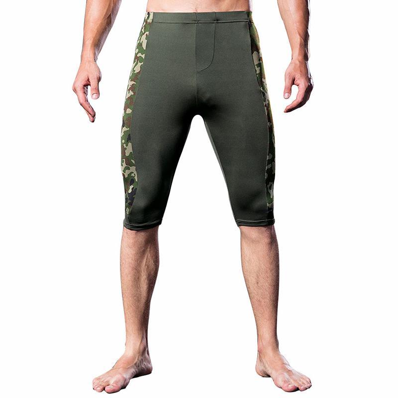930a09f65d Men s Shorts Skinny Short Homme Quick Dry Sweatpants Men Clothes Pantalon  Corto Hombre Camouflage Bodybuilding Cycling Shorts
