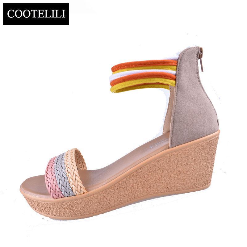 Chaussures Bohémien Cootelili Fond 35 39 Acheter De Pain Femmes Mode LcqAR354j