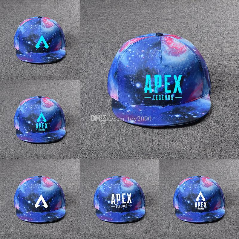 Apex legends game caps summer mesh fashion outdoor baseball cap hip hop hat popular sun hats for kids toys