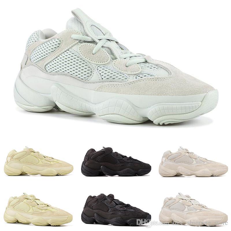 8c216e3c3 Compre Nuevas Yeezy 500 Zapatillas De Running Para Mujer Mujer BLUSH SALT SUPER  MOON AMARILLA UTILIDAD NEGRO Desert Rat Suede Para Hombre Zapatillas ...
