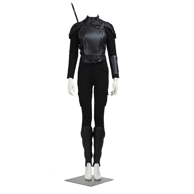 women halloween The Hunger Games Cosplay Costume Katniss Everdeen Cosplay Fire Girl Outfit Suit Coat Women Halloween Party Custom Made Adult