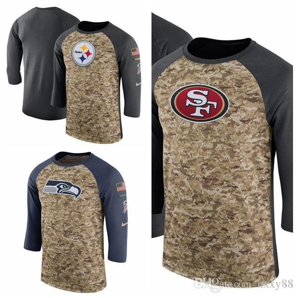 a1e831d2e Seattle Seahawks San Francisco 49ers Pittsburgh Steelers Salute to ...