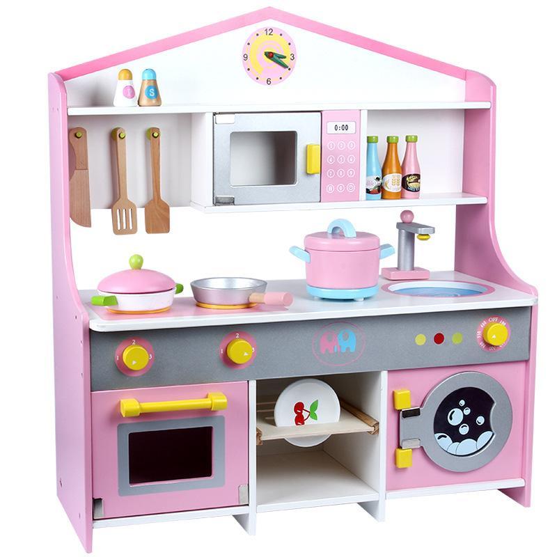 Großhandel Neue Kinder Im Japanischen Stil Holzküche Spielzeug ...