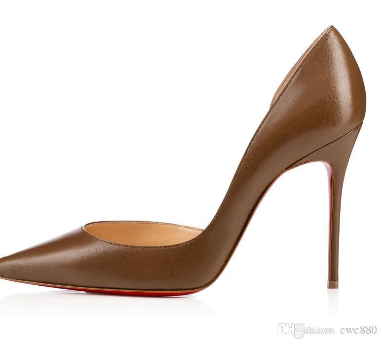 b934342f47b Christian Louboutin CL 2019 Ladies Nude Patent Christians Multicolored News  Red Bottoms Decollete Black Leather Pump Heels Bright Surface 01 Hair Wig  For ...