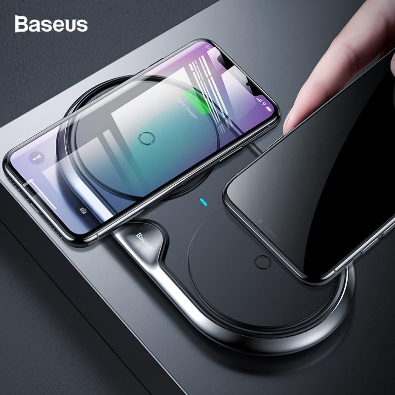baseus 10w dual set qi wireless charger for iphone xs max xr x rh dhgate com