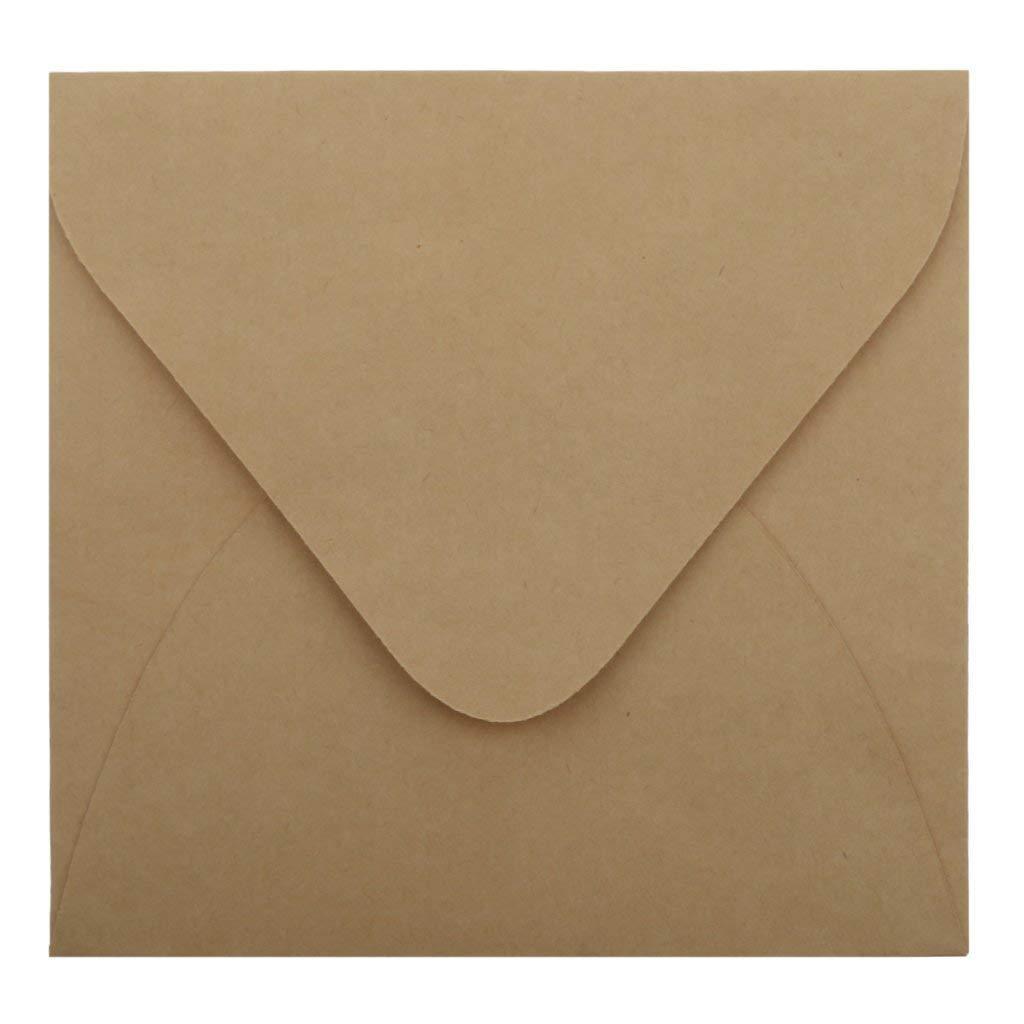 Mail & Shipping Supplies Paper Envelopes 50pcs Kraft Paper Envelopes For Wedding Announcement 16x11cm