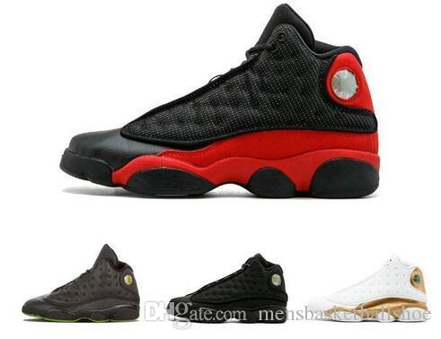 best website 35566 b6c27 Großhandel 13 13s Mens Basketball Schuhe Gezüchtet Chicago Weizen XII Melo  Klasse Von 2002 Black Cat Altitude Braun CP3 Hause DMP Sneakers Von ...