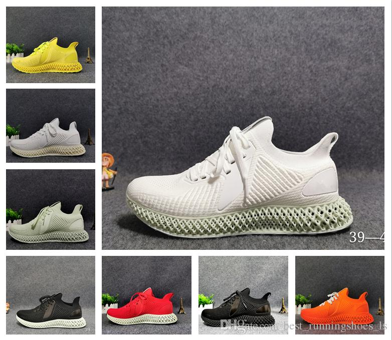 Best Seller Runner 4D Training Shoes Females Sports Shoes Males alpha 4D Print technology Running Sneakers With Logo