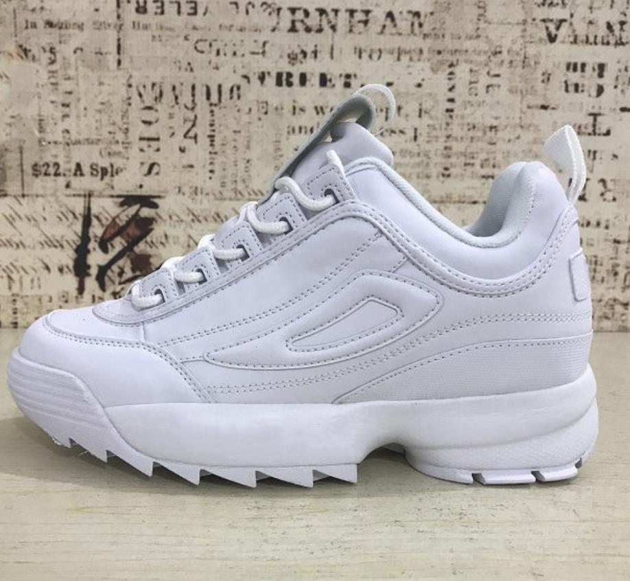 Designer shoes FILA men women Raf Simons x Disruptors 2.0 II Femmes Chaussures de course pour homme raf simons ozweego Sawtooth Papa Décontracté