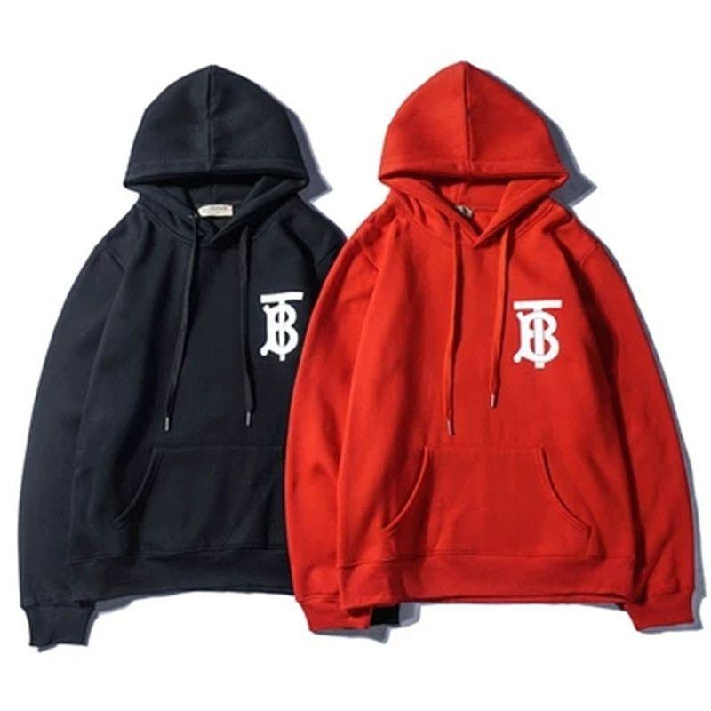 Männer Frauen Marke Hoodies Luxus Designer Männlich Hoodied Sweatshirts Langarm Einfarbig Beiläufige Frauen Hoodies M 2XL