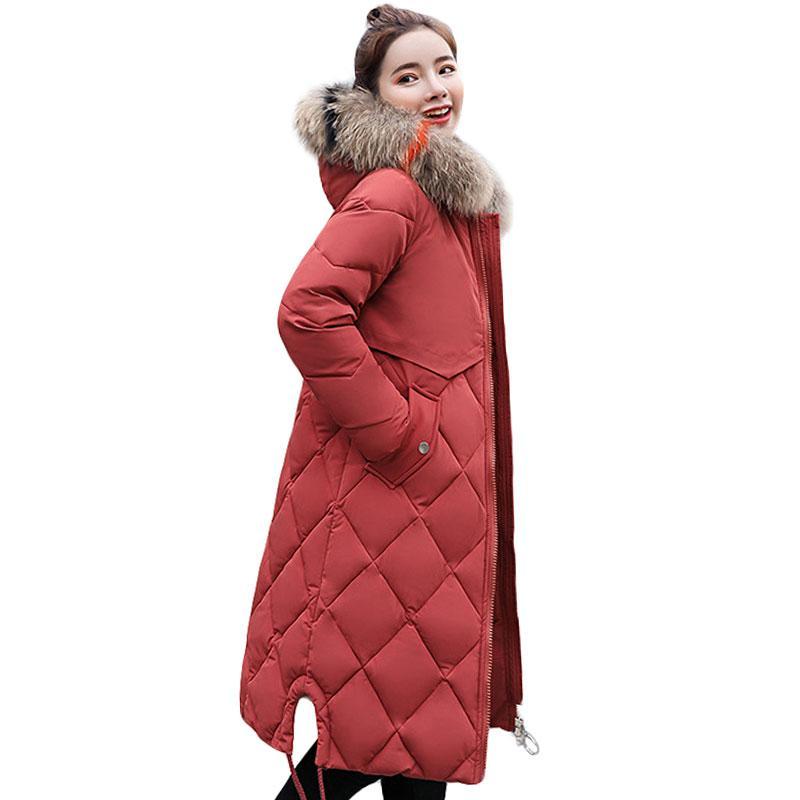 Mantel mit buntem pelz