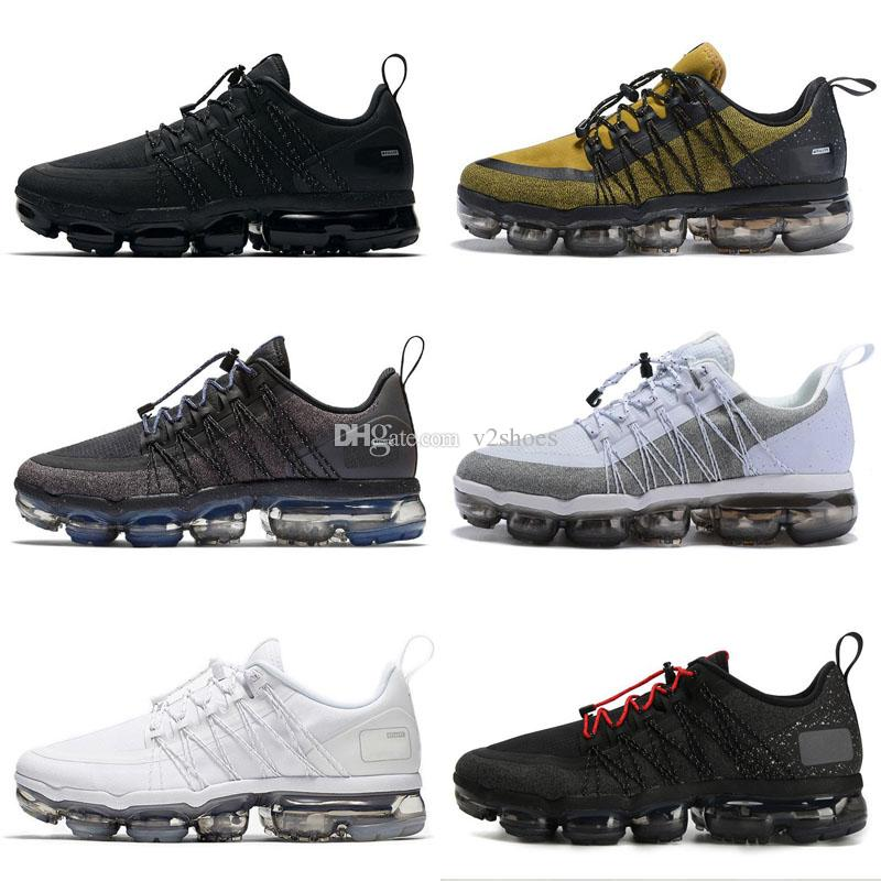 0dc4cdfcccd76 2018 New Run UTILITY Running Shoes for Men Triple White Black Olive  Burgundy Crush Designer Mens Trainers Sports Sneakers TN Running Shoes  Online with ...