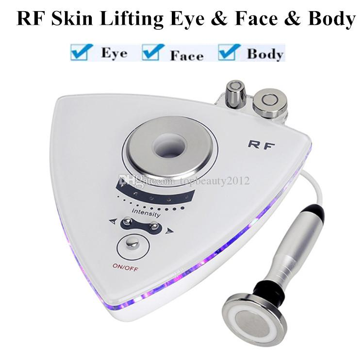 RF Facelift-Gerät Mini-Radiofrequenz-Gesichtsbehandlung Heimgebrauch für Augen Faltenbehandlung Anti-Aging-Hautverjüngung Körperstraffung