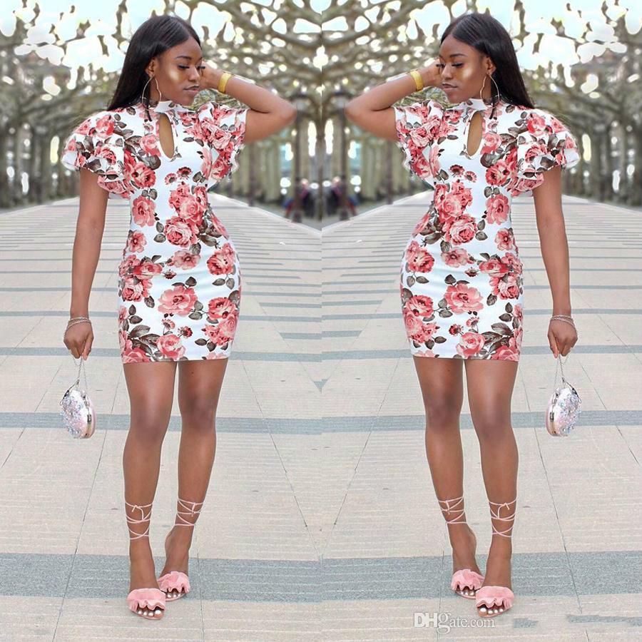7546686fb8d2f Satın Al 2018 Seksi Yeni Moda Günlük Elbiseler Kadın Yaz Kolsuz Akşam Parti  Plaj Elbise Kısa Şifon Mini Elbise Bayan Giyim Konfeksiyon, $14.08 | DHgate.
