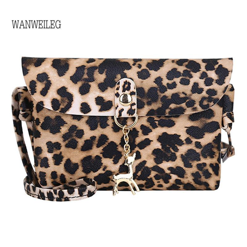 a3596b8e9db Cheap Womens Leather Bag Leopard Print Shoulder Messenger Bag Leppard Print  Hasp Handbag Bags For Women 2019 Bolsos Mujer @P Leather Backpack Clutch  Bags ...
