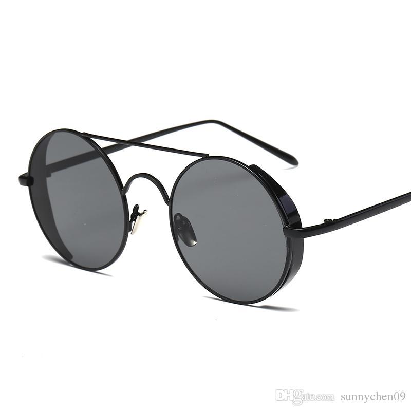 30767566df Compre Diseñador Popular Gafas De Sol Polarizadas Para Hombres Y Mujeres  Gafas De Sol Individuales Con Bordes De Metal Grueso A $7.21 Del  Sunnychen09 ...