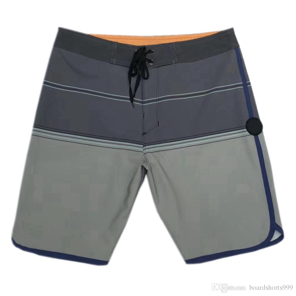 e90a4957b4 2019 NEW 4 Way Stretch Swimming Trunks Mens Swim Trunks Quick Dry Surf  Pants Loose Leisure Shorts Thin Bermudas Shorts Board Shorts Beachshorts  From ...