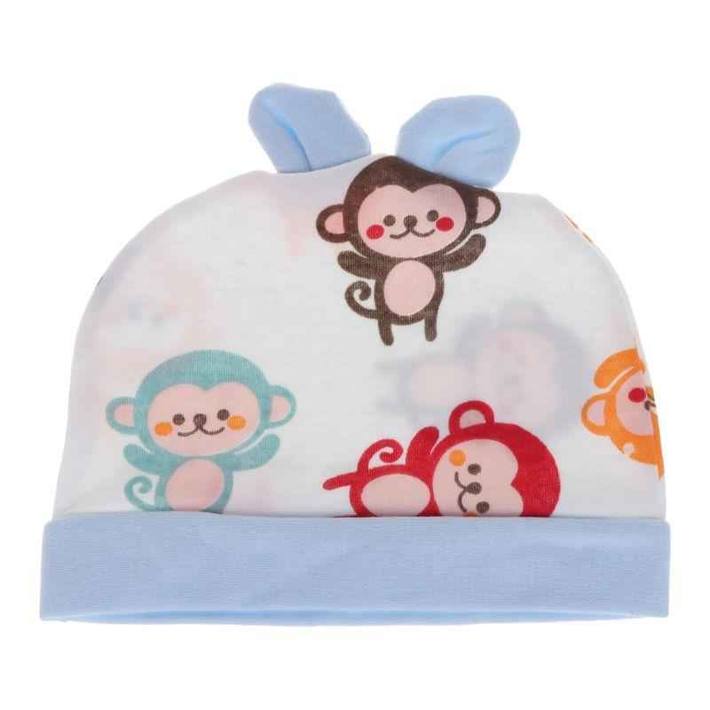 f6d8c7dce77 2019 Baby Hat Soft Cotton Cap Newborn Infant Boys Girls Cute Lovely Cartoon Rabbit  Ear Beanie From Oliveer