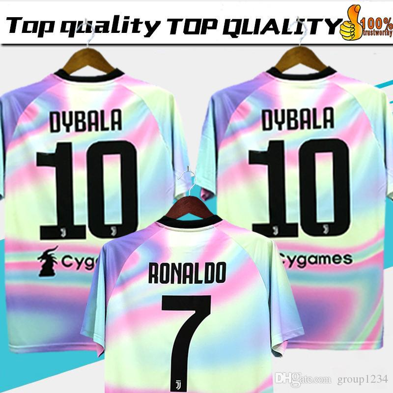 5c47a21107c 2019 New 2019 Juventus Limited Edition Soccer Jersey White EA Sports Jerseys   7 RONALDO  10 DYBALA Juventus Special Version Football Shirts From  Group1234