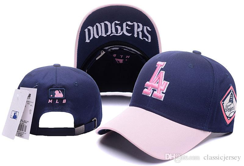 Compre Los Angeles Dodgers Snapback MLB NY Gorra De Béisbol Sombreros De  Golf Para Adultos Hombres Mujer Deportes Sombreros De Sol Amp Caps Link A   7.94 Del ... 3e8d87f263b