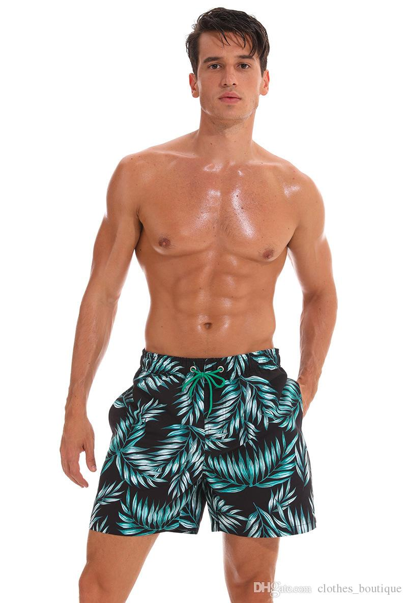 f119b2ed25 2019 DHL Mens Swim Trunks Quick Dry Beach Shorts Mesh Lining Board Shorts  Swimwear Bathing Suits with Pockets Beach Shorts Men's Swimwear Quick Dry  Online ...