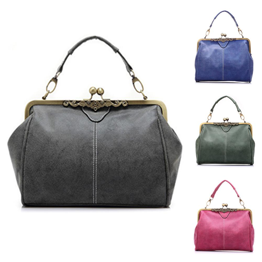 e7b8f07296 Women Handbag Special Offer PU Leather Bags Women Messenger Bag Clutch  Handbags Vintage Shoulder Crossbody Bags Cheap Designer Bags Mens Shoulder  Bags From ...