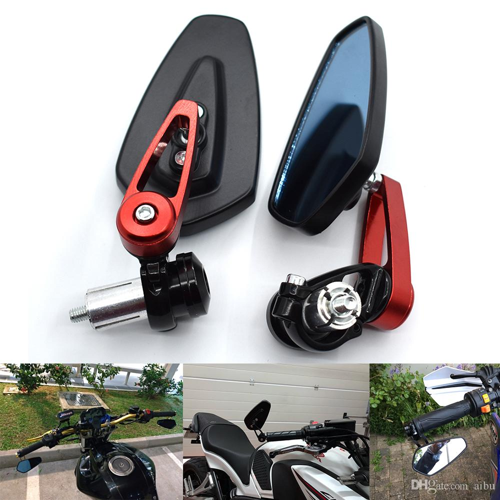 For Motorcycle Rearview Mirror Moto Side HONDA CBR 900 919 929 600RR HYOSUNG GT125R 650 Mirrors Under Handlebars