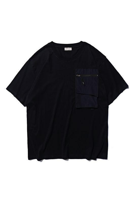 2019ss ALYX Logo stampato Pocket donna uomo manica corta T-shirt T-shirt da uomo in cotone Hip Hop Streetwear per l'estate