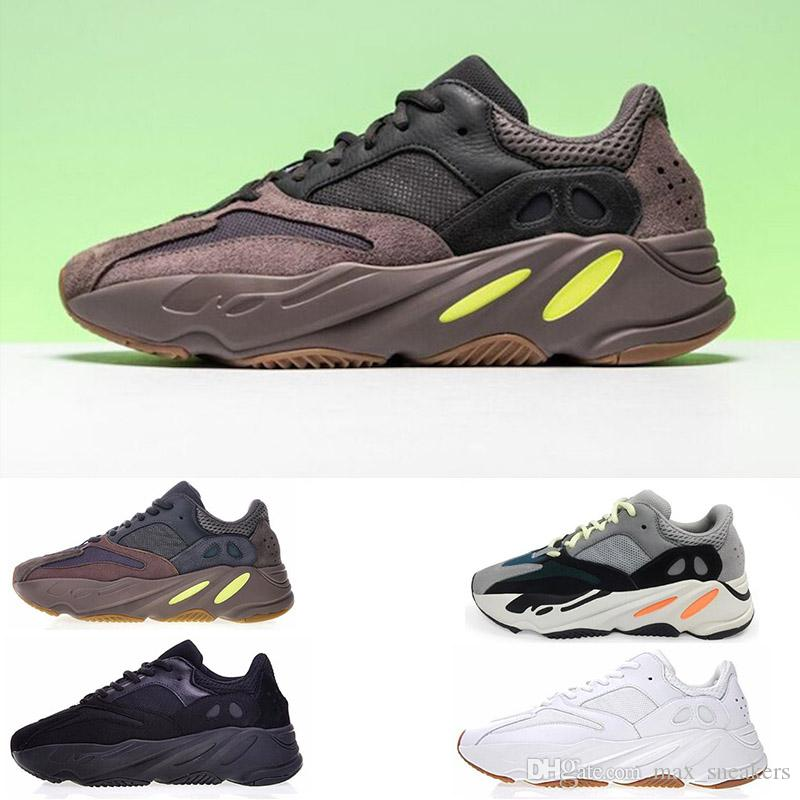 4fe162b7d 2019 700 Runner Kanye West Mauve Wave Running Shoes for Mens Women ...